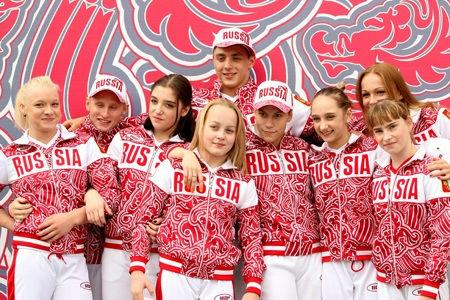 Костюм Олимпийской Сборной России